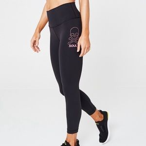 Lululemon SoulCycle High Rise Wunder Under Tights